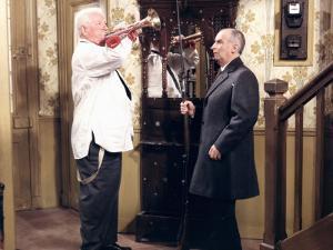 Jean Gabin and Louis de Funès: Le Tatoué, 1968 by Marcel Dole