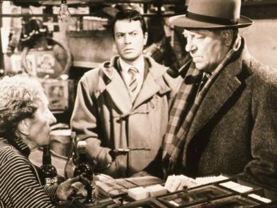 Jean Gabin and Robert Hirsch: Maigret et L'Affaire Saint Fiacre, 1959