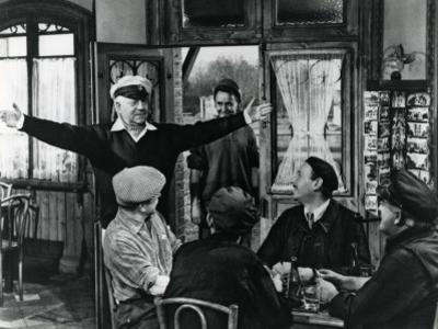 Jean Gabin: Le Baron de L'Écluse, 1959 by Marcel Dole