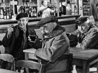Jean Gabin, Pierre Fresnay and Noël-Noël: Les Vieux de La Vieille, 1960 by Marcel Dole