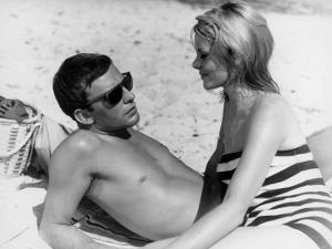 Jean-Louis Trintignant and Françoise Brion: Le Coeur Battant, 1960 by Marcel Dole