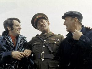 Jean-Paul Belmondo, Bourvil and David Niven: Le Cerveau, 1969 by Marcel Dole