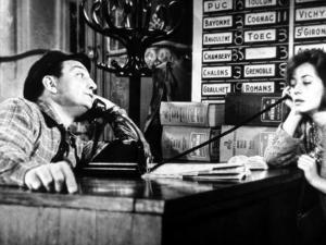 Lino Ventura and Annie Girardot: Le Bateau D'Emile, 1962 by Marcel Dole