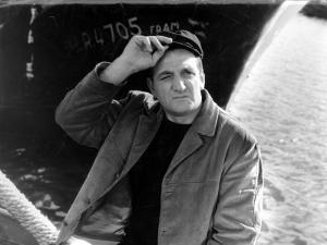 Lino Ventura: Le Bateau D'Emile, 1962 by Marcel Dole