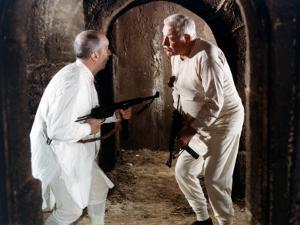 Louis de Funès and Jean Gabin: Le Tatoué, 1968 by Marcel Dole