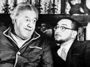 Michel Simon and Pierre Brasseur: Le Bateau D'Emile, 1962 by Marcel Dole