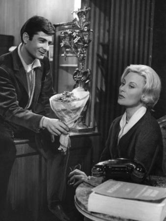 Michèle Morgan and Jean-Claude Brialy: Les Lions Sont Lâchés, 1961