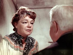 Simone Signoret and Jean Gabin: Le Chat, 1971 by Marcel Dole
