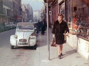 Simone Signoret: Le Chat, 1971 by Marcel Dole