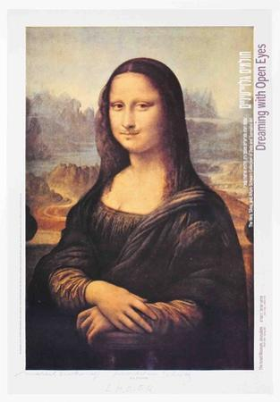 L.H.O.O.Q. (Mona Lisa) by Marcel Duchamp