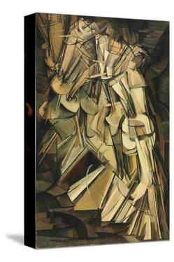 Nude Descending Stair by Marcel Duchamps