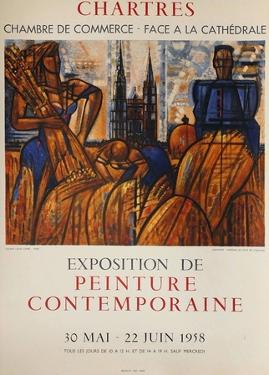 Exposition Chartres by Marcel Gromaire