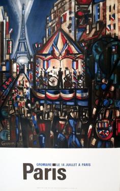 Le 14 Juillet a Paris by Marcel Gromaire