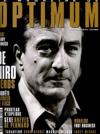 L'Optimum, April-May 1998 - Robert de Niro by Marcel Hartmann