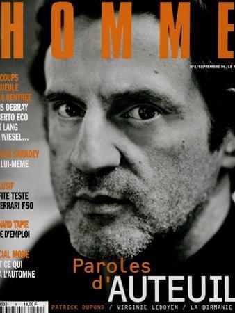 L'Optimum, September 1996 - Daniel Auteuil by Marcel Hartmann