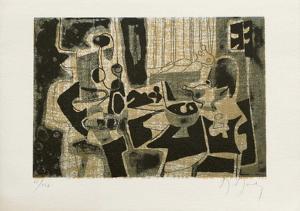 Dans l'atelier by Marcel Mouly