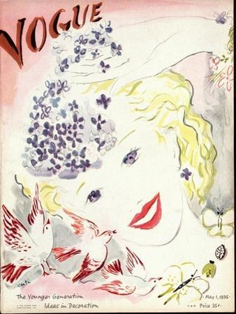 Vogue Cover - May 1935
