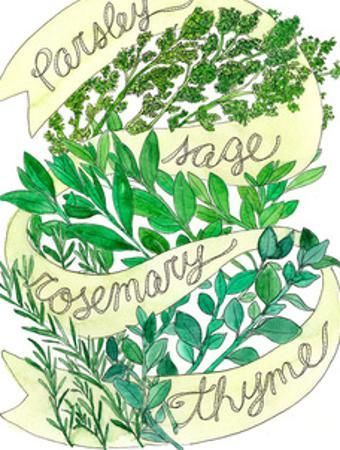 Parsley Sage Rosemary Thyme by Marcella Kriebel