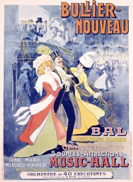 Bullier, Nouveau Bal by Marcellin Auzolle