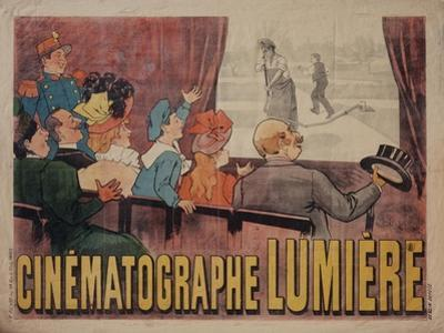 Poster for Cinematograph Lumiere