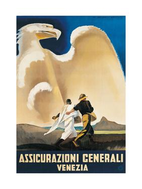 Assicurazioni Generali Venezia by Marcello Dudovich