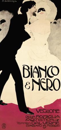 Bianco and Nero by Marcello Dudovich