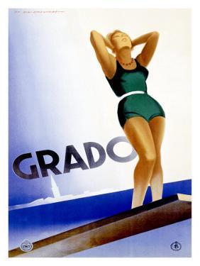Grado by Marcello Dudovich