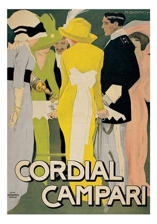 Marcello Dudovich- Cordial Campari