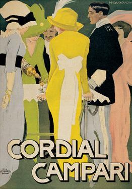 Marcello Dudovich- Cordial Campari by Marcello Dudovich