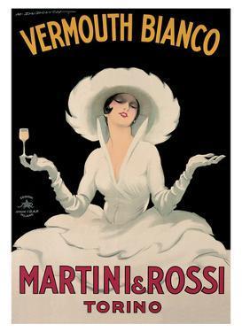 Marcello Dudovich- Martini & Rossi by Marcello Dudovich