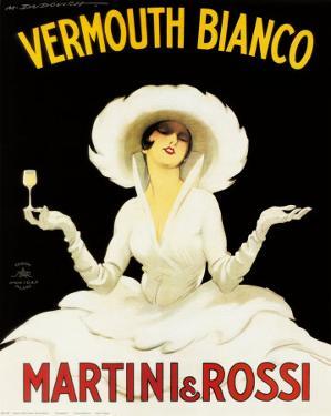 Martini and Rossi by Marcello Dudovich
