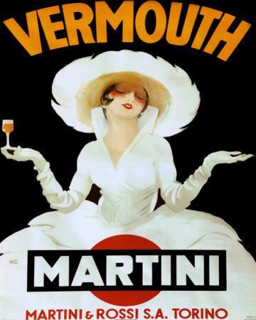 Martini Rossi & Torino by Marcello Dudovich