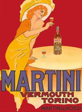 Martini Vermouth - Martini & Rossi - Turin (Torino), Italy by Marcello Dudovich