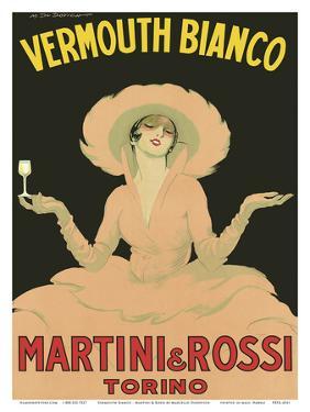 Vermouth Bianco - Martini & Rossi - Torino (Turin), Italy by Marcello Dudovich
