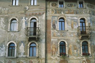 Frescoes Frames and Faux Marble Inlays