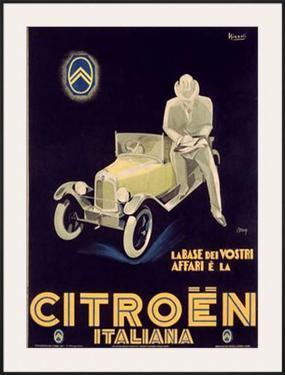 Citroen by Marcello Nizzoli