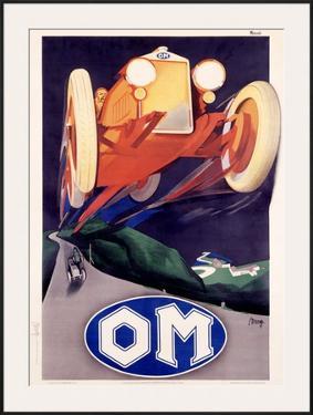 OM Roadster by Marcello Nizzoli