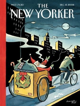 The New Yorker Cover - December 15, 2008