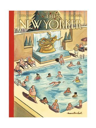 The New Yorker Cover - January 11, 2016