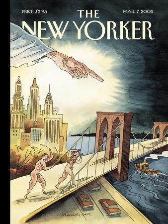 The New Yorker Cover - March 7, 2005
