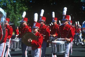 Marching Band, Pumpkin Festival Parade, Morton, Illinois