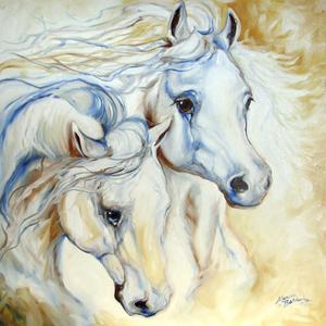 Arabian Eccense by Marcia Baldwin