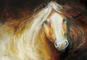 Autumn Breeze Equine by Marcia Baldwin