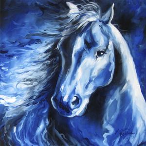 Blue Thunder by Marcia Baldwin