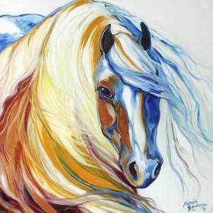 Gypsy Vanner Dream by Marcia Baldwin