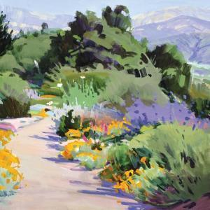 Path through the Poppies by Marcia Burtt
