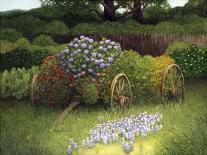 Flower Wagon by Marcia Matcham