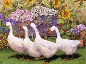 Garden March III by Marcia Matcham