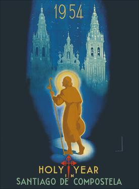 Santiago, Spain - Holy Year in Santiago De Compostela - Way of St. James by Marcias Jose Morell
