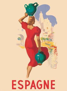 Spain (Espagne) - Blonde Spanish Beauty by Marcias José Morell